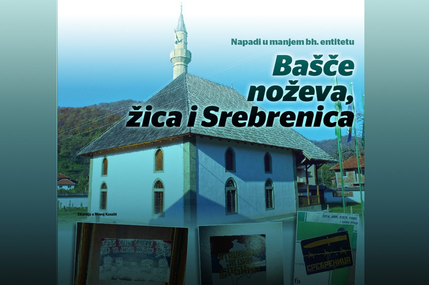 Lažni svijet mira - Bašče noževa, žica i 'Srebrenica'