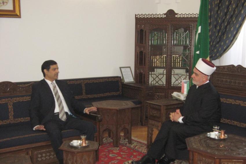 Reisu-l-ulema primio kuvajtskog ambasadora