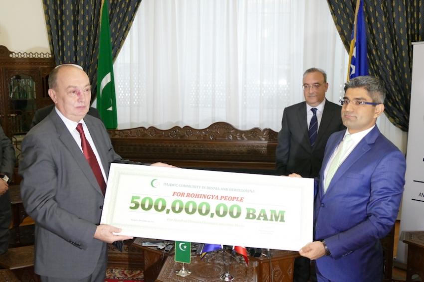 Građani putem Islamske zajednice donirali pola miliona maraka za Rohinje