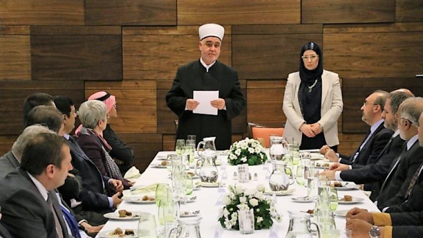 Tradicionalni iftar Reisu-l-uleme za ambasadore