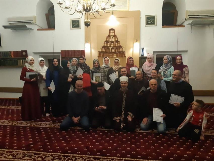 U Sejmenskoj džamiji obilježen završetak kursa Sufare za odrasle