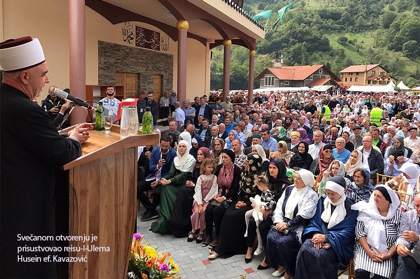 Svečano otvorena džamija u Varošištu kod Zenice