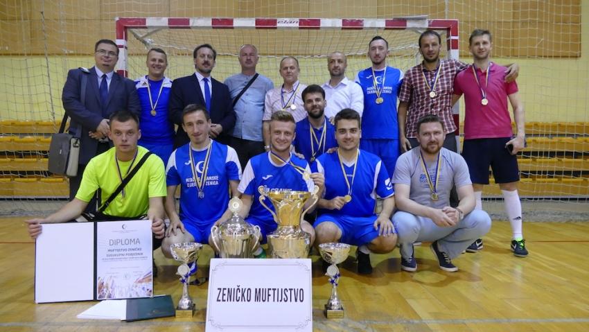 Završeni jubilarni Kulturno-edukativni i sportski susreti: Pehar otišao u Zeničko muftijstvo