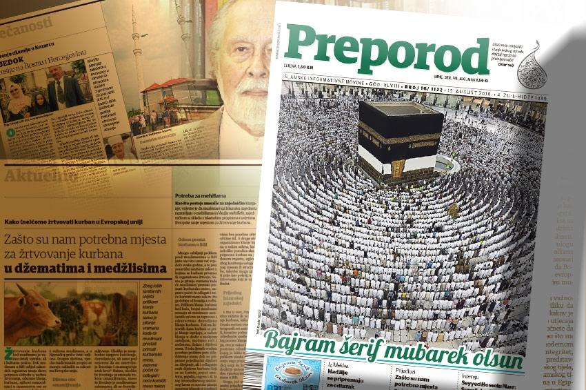 Novi broj Preporoda: Sunnijsko-šijjska podjela je vještački problem