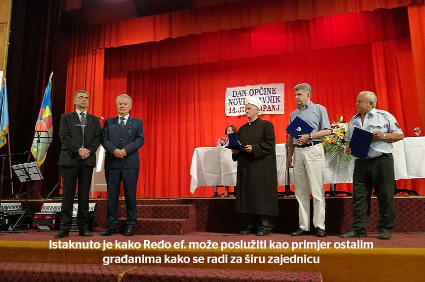 Novi Travnik - Efendiji dodijeljeno najveće općinsko priznanje
