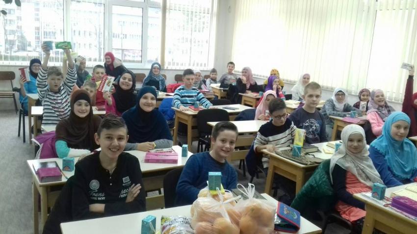 Projekti: 500 polaznika Škole hifza Muftijstva sarajevskog