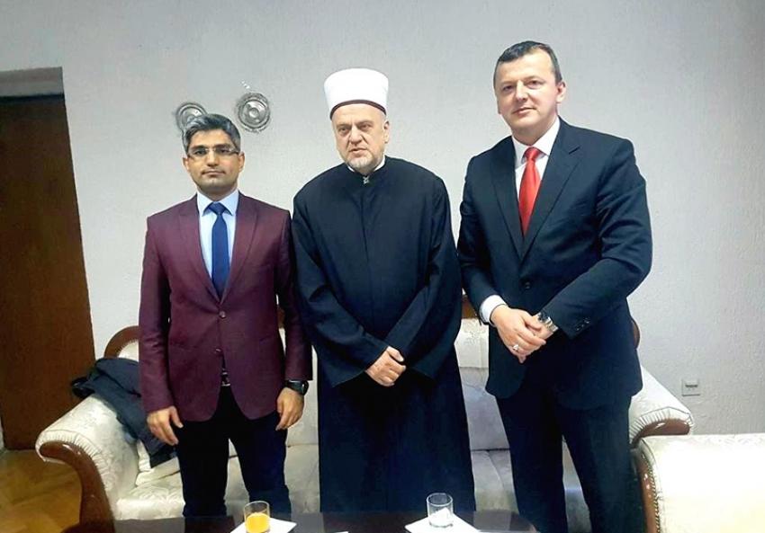 Predstavnici agencije TIKA u posjeti Muftijstvu bihaćkom i Medžlisu IZ Bihać