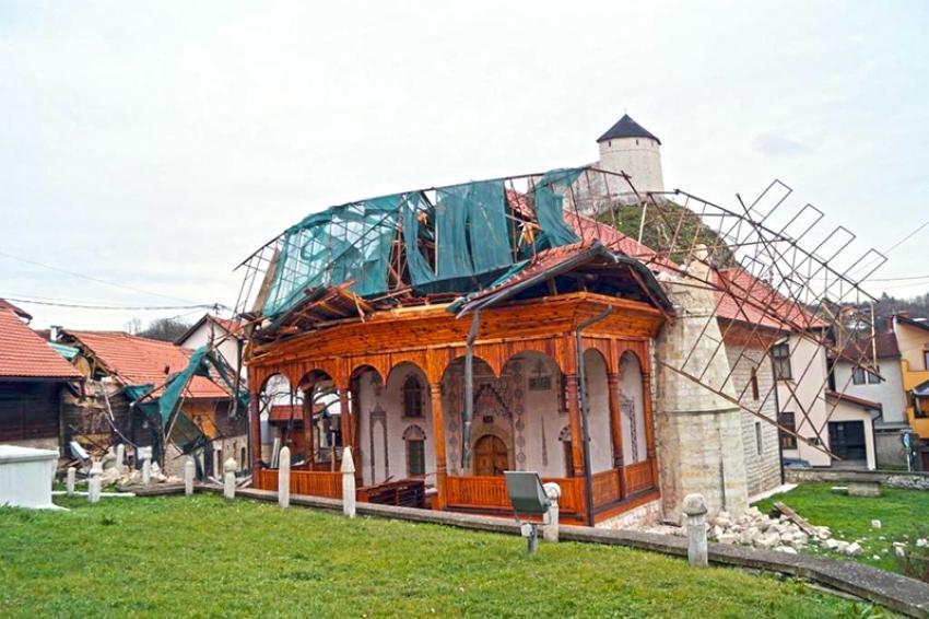 Posljedice nevremena: Štete na objektima Islamske zajednice