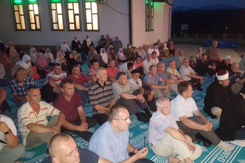 Večer Kur'ana u povodu godišnjice otvorenja džamije