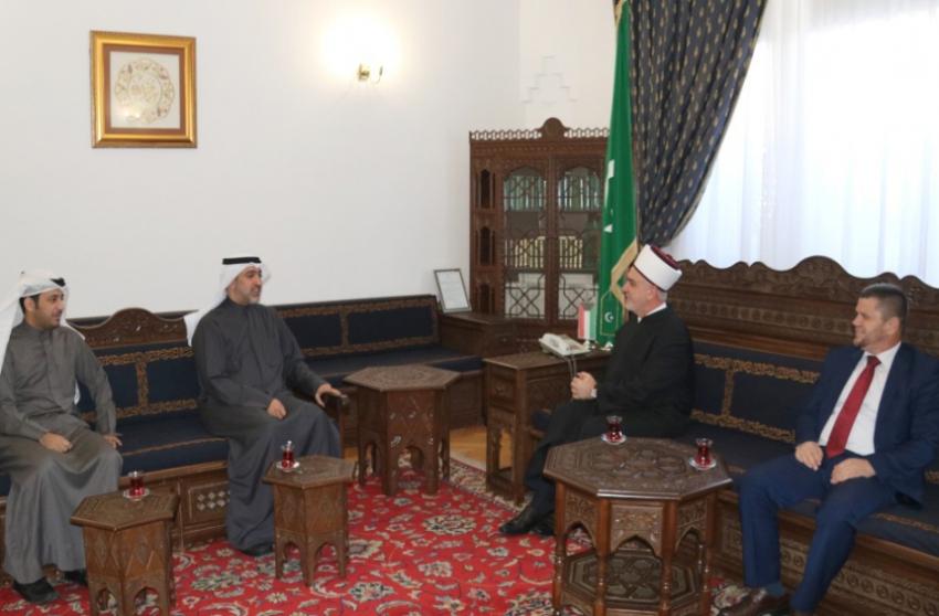 Reisu-l-ulema primio delegaciju Generalnog sekretarijata vakufa Države Kuvajt
