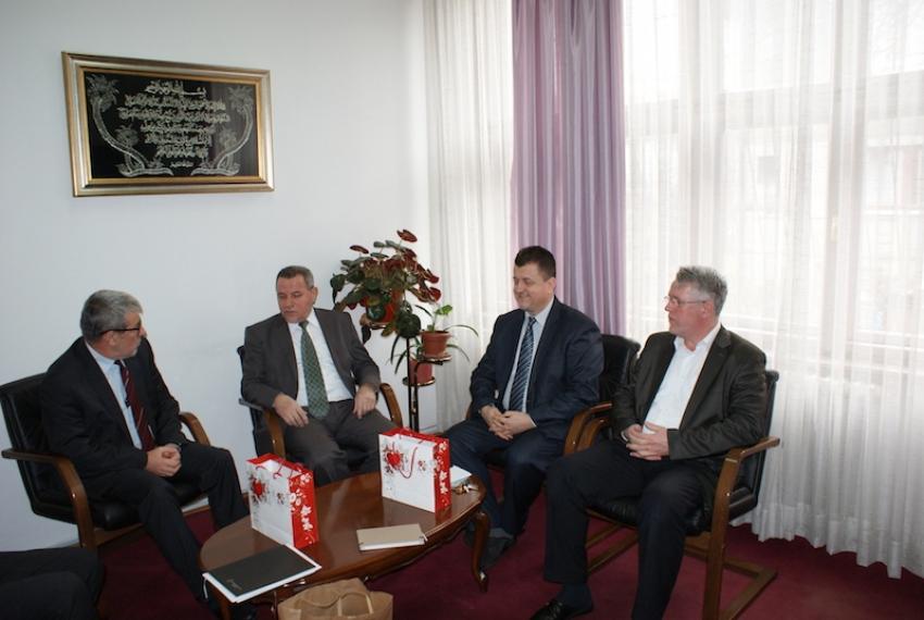 Radna posjeta Islamskom pedagoškom fakultetu u Zenici