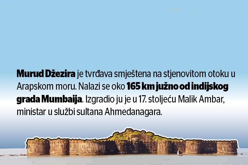 Muslimansko naslijeđe - Najjača pomorska utvrda u Indiji