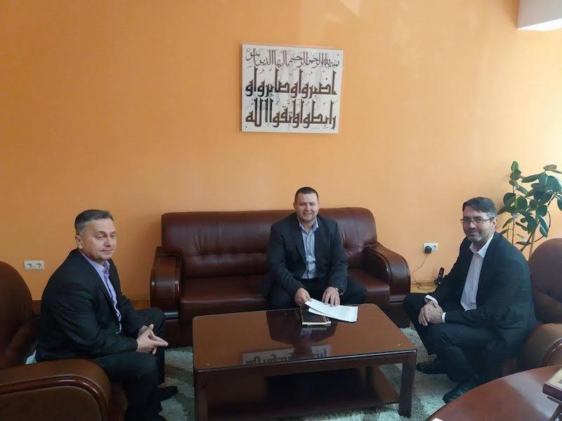 Srebrenik: Prijem za mr. Mirsad-ef. Djedovića