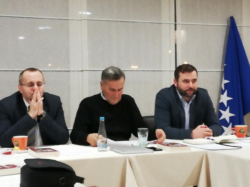 Novi saziv Izvršnog odbora Medžlisa  Mostar održao prvu radnu sjednicu