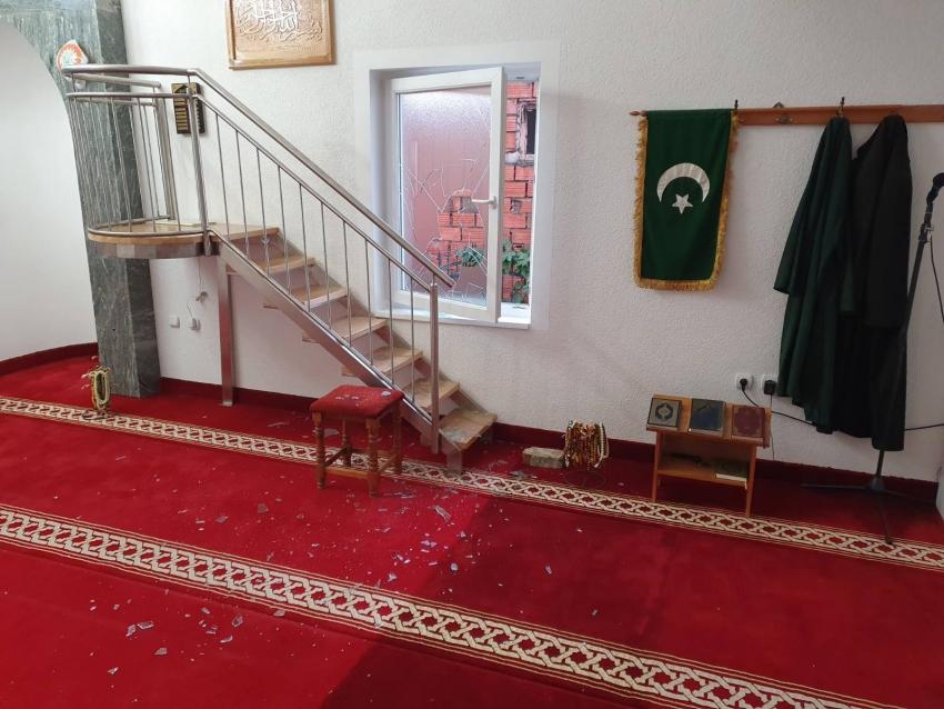 Džamija u Bosanskoj Dubici: Pokušaj pljačke
