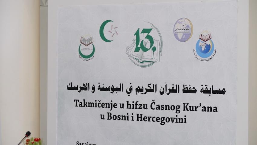Sarajevo: Otvoreno 13. takmičenje u hifzu