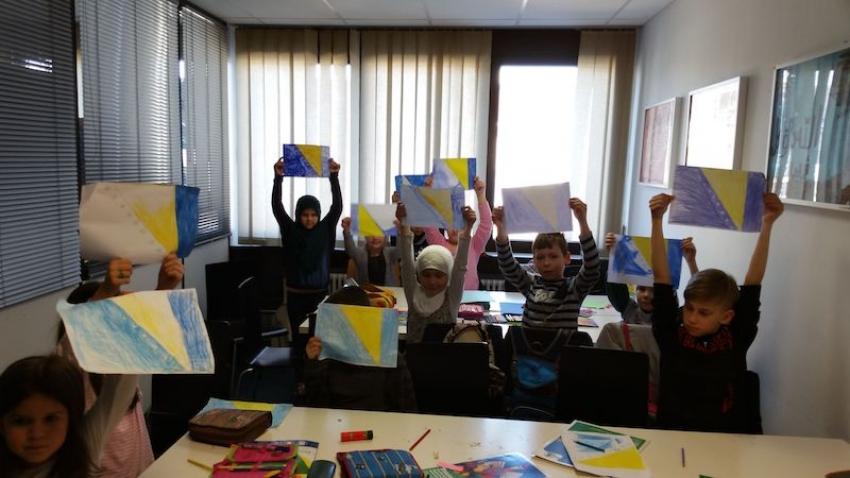 Dan nezavisnosti BiH u mektebu Hidaje